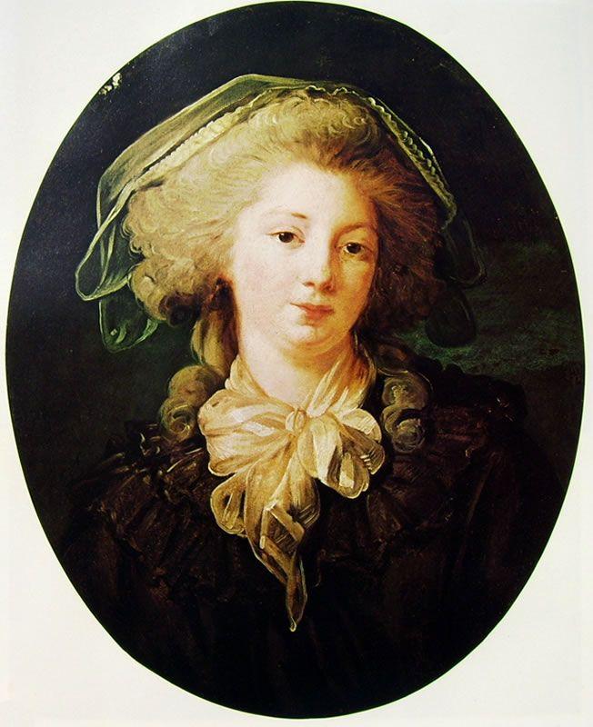 "Jean-Honerè Fragonard, ""La signora Bergeret de Norinval"", 1780-88, olio su tela, 60 x 50 cm, collezione Cognacq-Jay a Parigi."