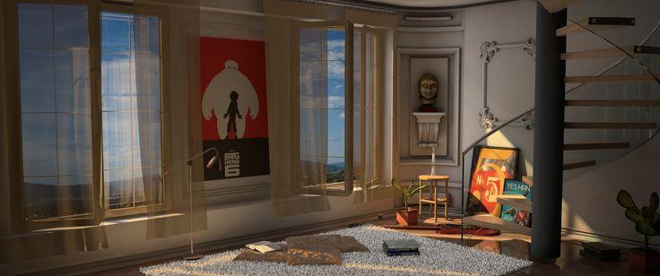 Animation scene - Cinema 4D - www.pro4d.hu - Tasner Péter
