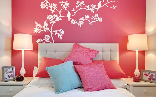 DORMITORIOS: decorar dormitorios fotos de habitaciones recámaras diseño y decoración: DORMITORIOS JUVENILES DE COLOR FUCSIA