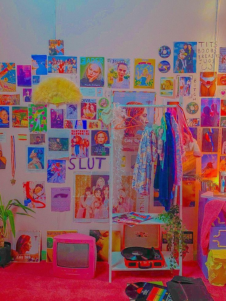 in 2020 | Indie room decor, Retro room, Indie bedroom on Room Decor Indie id=82642
