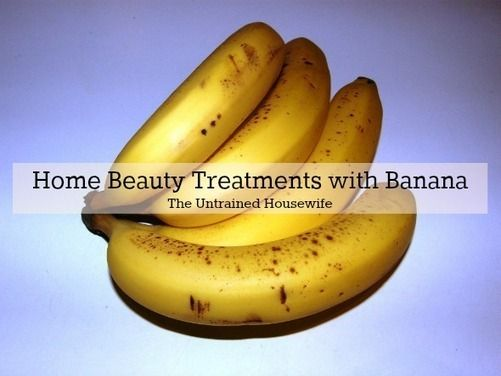 4 Home Beauty Treatments with Banana - Bananas are a good source of vitamin B6, manganese, vitamin C, fiber, potassium, biotin, and copper. They are also inexpensive ingredients for natural beauty treatments. Banana works for all skin types and can be used in homemade face masks, natural body scrubs, and even home hair treatments. Leftover ripe bananas are often the best ones for DIY beauty.