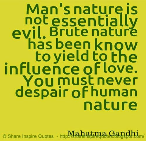 Best Nature Quotes: 10 Best Human Nature Quotes On Pinterest