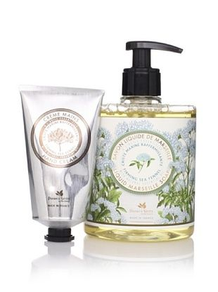 49% OFF Panier des Sens Firming Sea Fennel Liquid Soap & Hand Cream, Set of 2