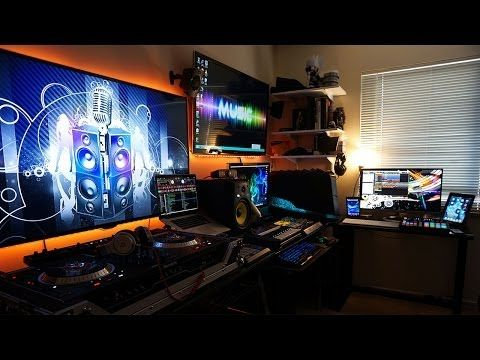 Ultimate Best Gaming Setup Music Studio Mancave On
