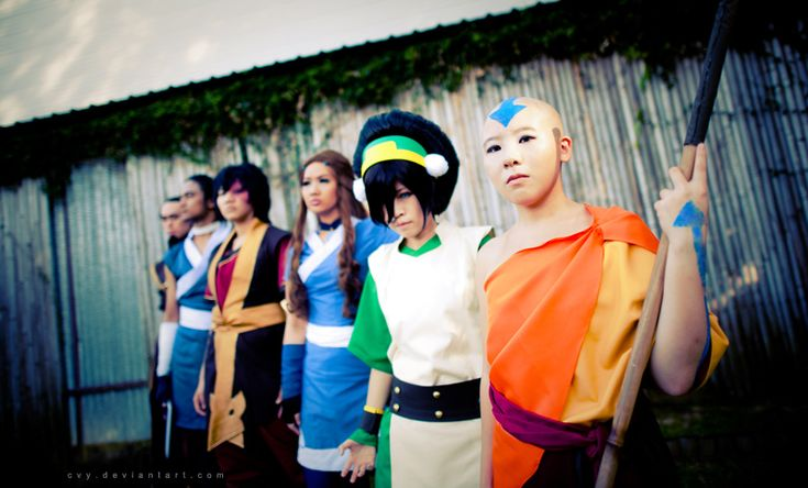 Avatar The Last Airbender by *Cvy