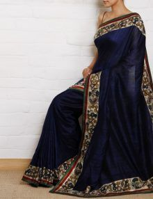 Buy Blue Color Printed Work Georgette Bollywood Saree Online At Zoya Clothing  #saree #designersarees #bollywoodsaree #ethinc #fashion #fashionable