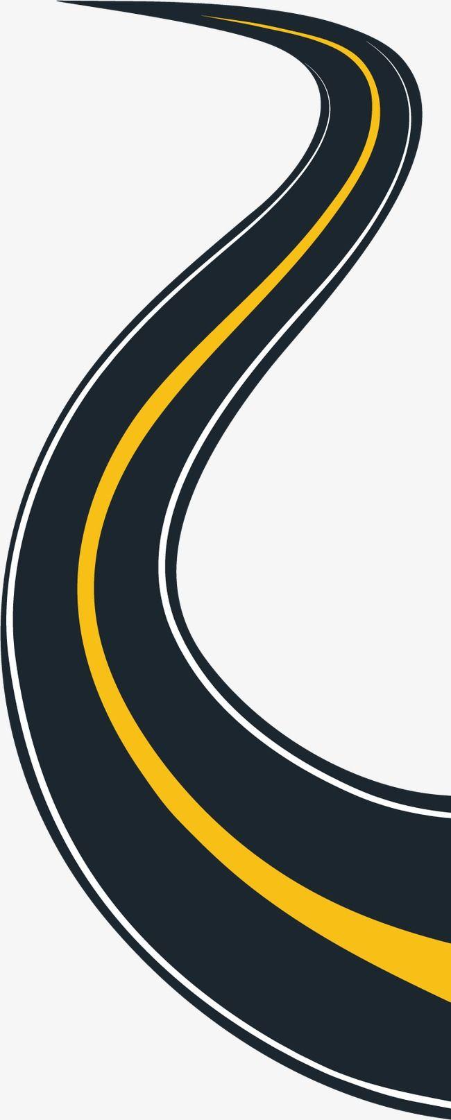 Elements Decoratifs Des Routes Urbaines Clipart Route Route Chemin Fichier Png Et Psd Pour Le Telechargement Libre Urban Road Clip Art Art Images
