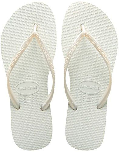 Havaianas Slim White Flip Flop 3940 *** Click image to review more details.