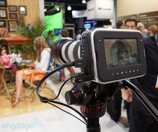 Blackmagic Cinema Camera packs 'feature film' 2.5K quality, touchscreen for $2,995