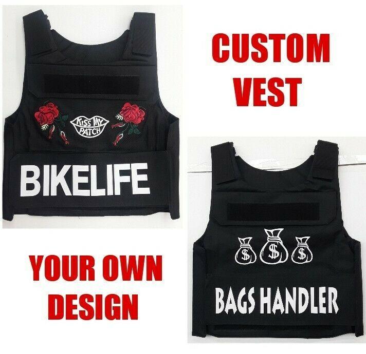 Custom Bullet proof Vest. With Your own design or logo VEST