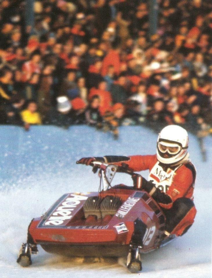 Allouette Super of Gilles Villeneuve.
