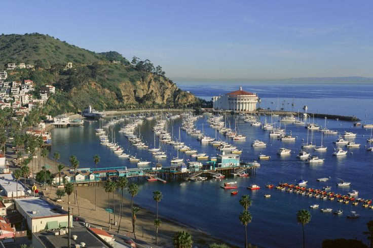 This tiny seaport on Catalina Island feels more like a Mediterranean getaway than a West Coast beach.