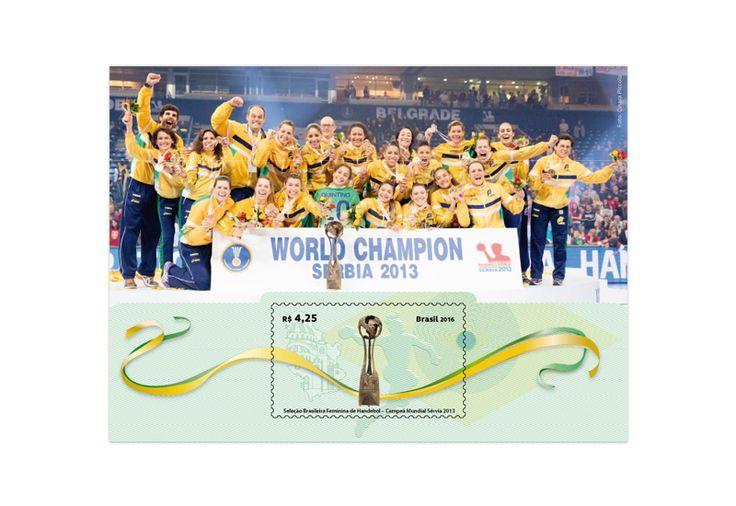 COLLECTORZPEDIA Women's National Handball Team – World Championship 2013