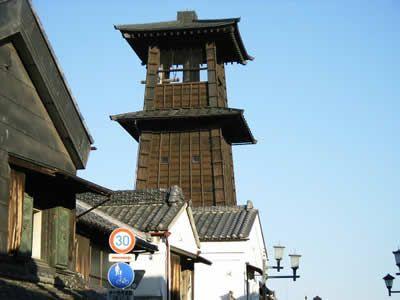 埼玉県川越市の観光名所「時の鐘」