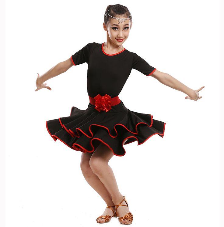 >> Click to Buy << School Performance Child Children Dance Dress For Girls Cha-Cha Samba Dress Dancing Clothing Girl Dancewear Kid Latin Costume #Affiliate