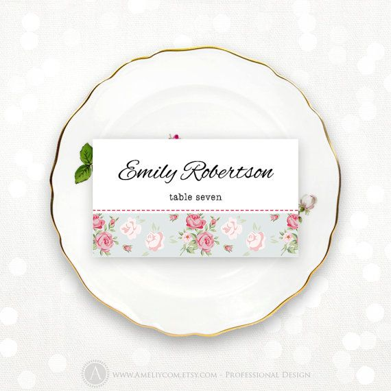 Best 25 printable place cards ideas on pinterest print for Name place cards wedding