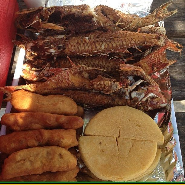 Fried Fish Festival And Bammy Caribbean Recipes