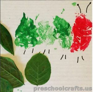 paint with tree leaf