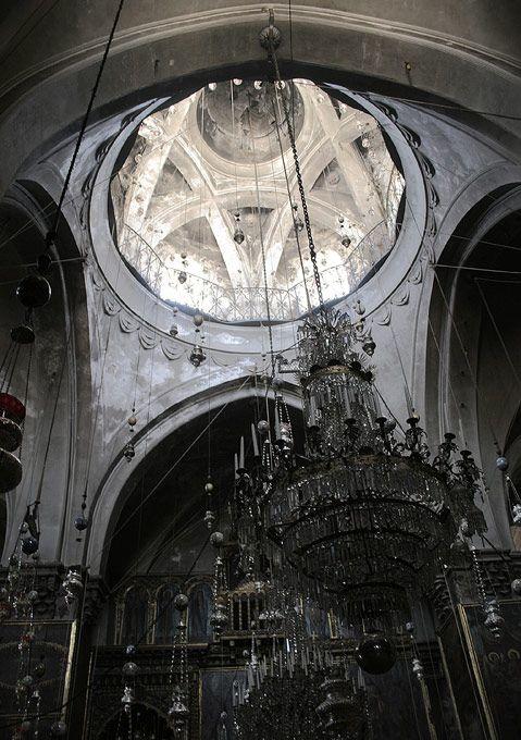 The Cathedral of St. James (Սրբոց Յակոբեանց Վանք Հայոց, or Saint Jacob Armenian Cathedral) in Jerusalem
