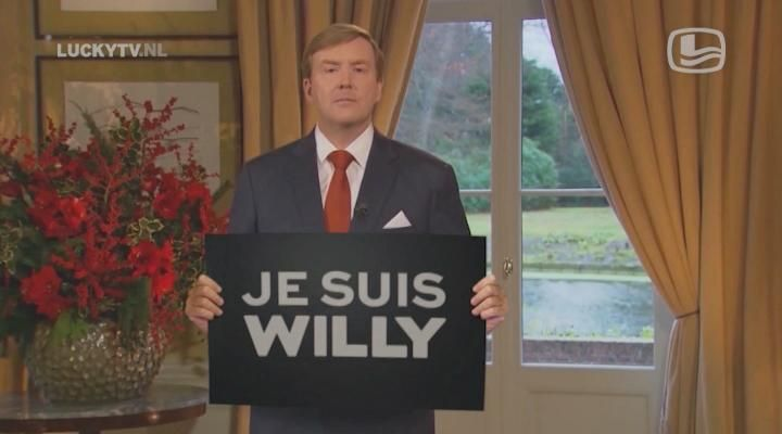 Great to live in a country where this is possible @dwdd: #LuckyTV: Je Suis Willy http://ow.ly/H10J3  #dwdd