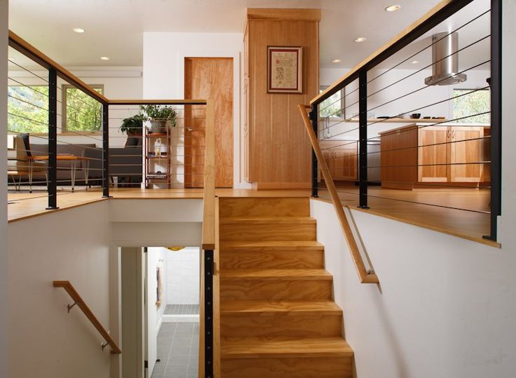Krikor Architecture-split level entry remodel