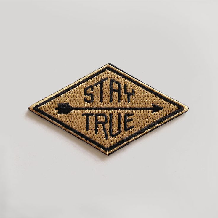 Stay True Patch from HAMMERPRESS