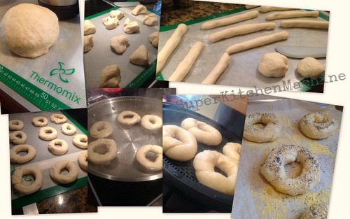 Tweet    Authentic artisanal bagels are extremely rewarding and easy to make. Even beginner cooks can feel like a pro with Thermomix. (The hardest thing is deciding what to put on top.)  Tweet    Fouad Kassab's Lebanese Toum (for Thermo...Salmon RillettesThermomix recipe: Vodka Tomato SauceAlvin Quah Recipe: Thermomix Kangaroo Cu...