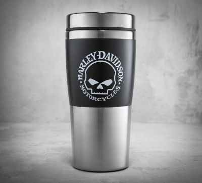 skull travel mug stainless steel travel and the o 39 jays