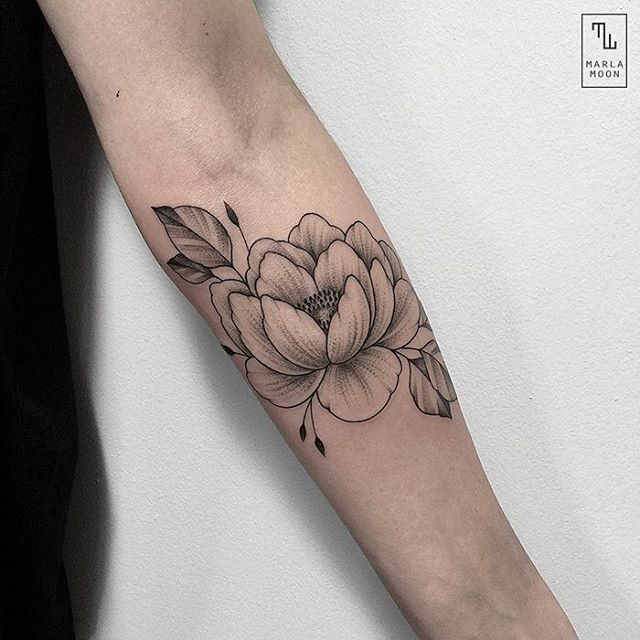 Simple Peony line out.