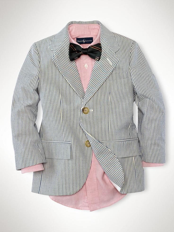 35 best communie outfit JB images on Pinterest | Seersucker blazer ...