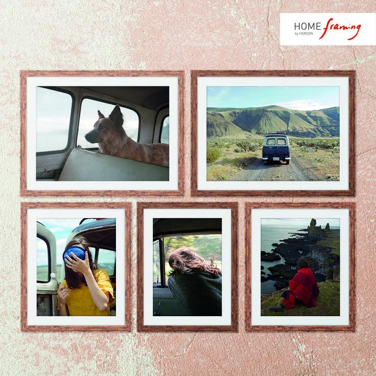 ¡Déjate atrapar por el road trip fotográfico de Nich Hance McElroy! Molduras rústicas naturales color miel (ref. 275-223) y color nogal (ref. 275-163)