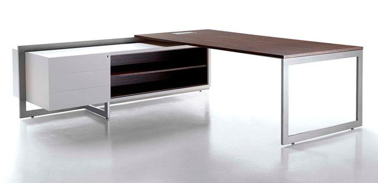 Buro1 -- Características: El diseño moderno y lineal del escritorio Buro aporta una gran diferenciacion a la oficina que lo usa. Infórmate más sobre este mueble dándole clic a la imagen.
