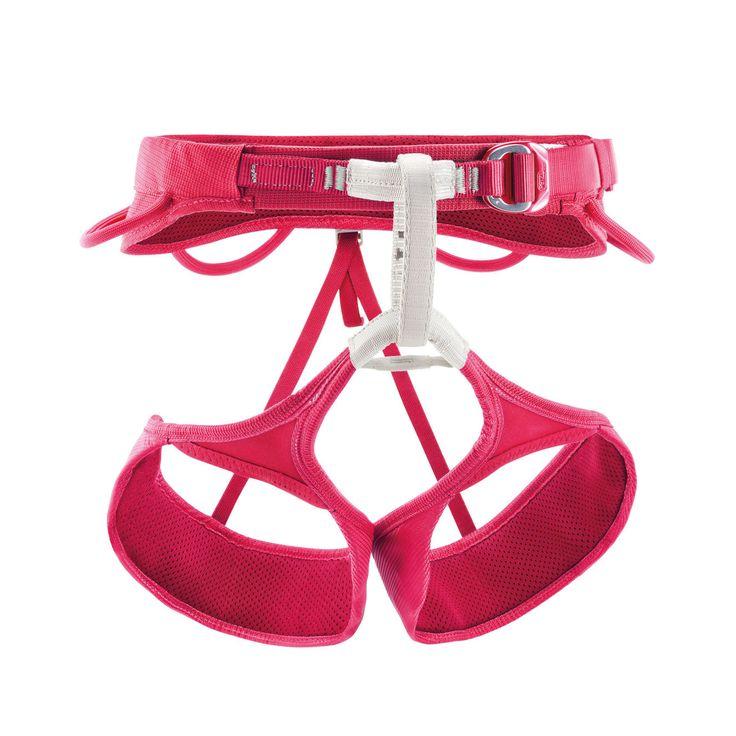 Selena de Petzl est un baudrier confortable, ajustable et performant, pour femme. Doté de la technologie ENDOFRAME pour une répartition homogène de la charge au niveau de la ceinture et des cuisses. Tour de cuisse élastique et réglable pour faciliter l'enfilage, même avec des équipements. Boucles ceinture et cuisses DoubleBack Light avec sangle dédoublée pour un réglage facile et rapide. Points d'encordement en polyéthylène haute ténacité pour plus de résistance. Témoin d'usure rouge ...