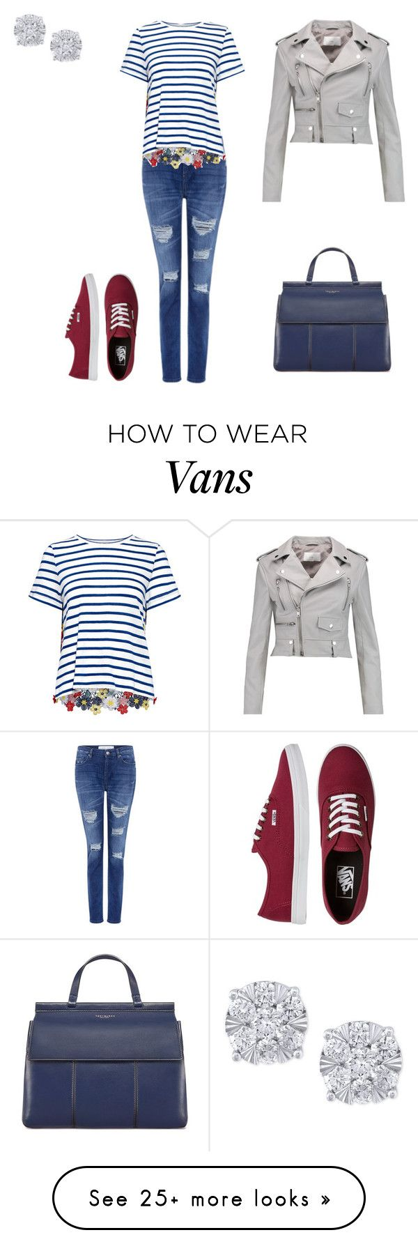 """""""Untitled #154"""" by silentpoetgeek on Polyvore featuring IRO, Sea, New York, Vans, W118 by Walter Baker, Tory Burch and Effy Jewelry"""