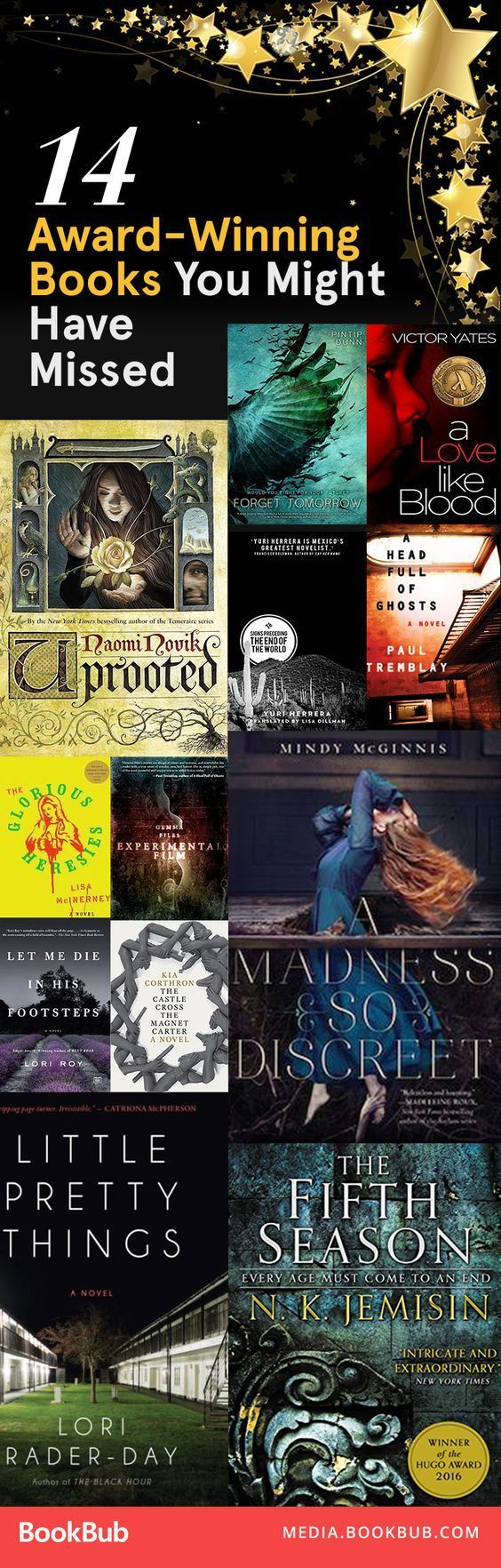 Award-winning books to read next -- add to your reading list before you forget! | best selling books reading list | booklist of award winning books