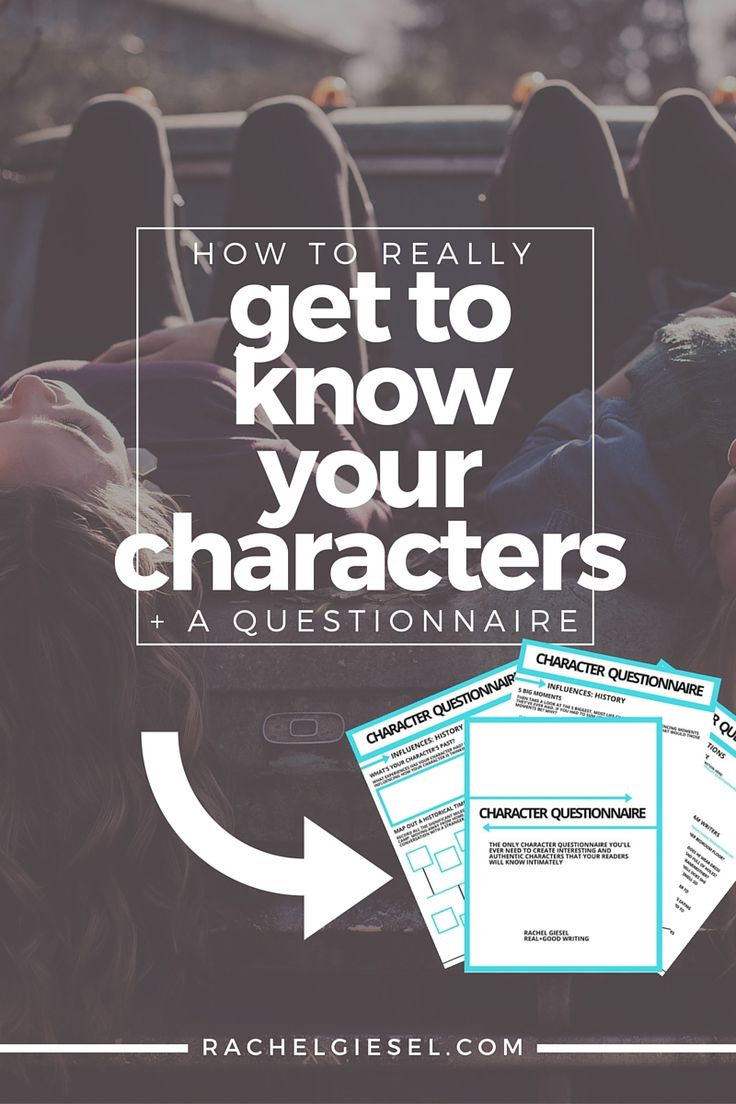You've probably seen a million bajillion character questionnaires. Most of the time they ask you about basic physical facts: birthdays, height, favorite colors. But these aren't the details that create an interesting, authentic, believable character that will stick with readers. These details won't allow your readers to be intimate with your characters. Learn the REAL questions you should be asking your characters. Get to the heart, the core, the DNA of their self in order to bring them to…