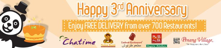Order today to get free delivery from over 700 restaurants only at foodpanda. To get the offer click: http://bit.ly/1vlFYBM