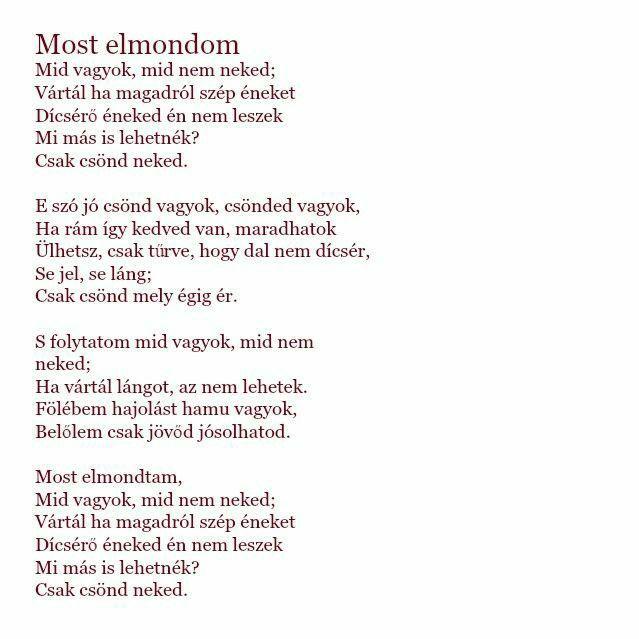 cseh tamás idézetek Bereményi Géza szövege és Cseh Tamás zenés feldolgozása, a Csönded