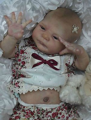 x Cassia ~ Sylvia Manning ~ LTD ED fake baby reborn girl doll x in Dolls & Bears, Dolls, Clothing & Accessories, Artist & Handmade Dolls | eBay