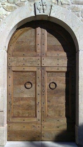 Riproduzione di un portone antico Umbro, epoca 1600