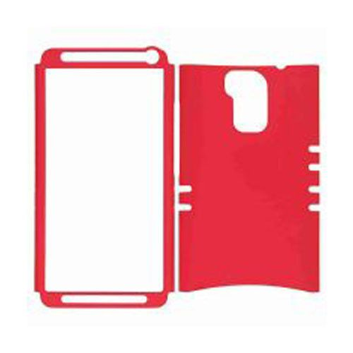 Rocker Series Snap-On Protector Case for HTC One Max / T6 (Fluorescent Red)