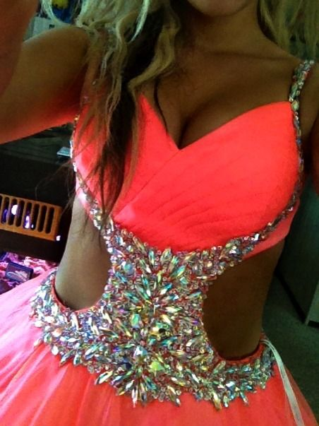 What a neat dress.