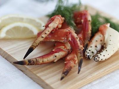 Kamchatka krabbe - kongemat! Med oppskrift til skalldyrsaus