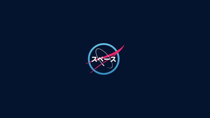 #NASA Japanese Art #logo #minimalism #modern #4K # ...