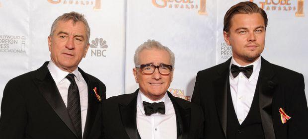 Роберт Де Ниро (Robert De Niro), Мартин Скорсезе (Martin Scorsese), Леонардо Ди Каприо (Leonardo Di Caprio)