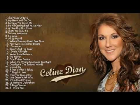 Celine Dion Greatest hits full album new 2017 - YouTube