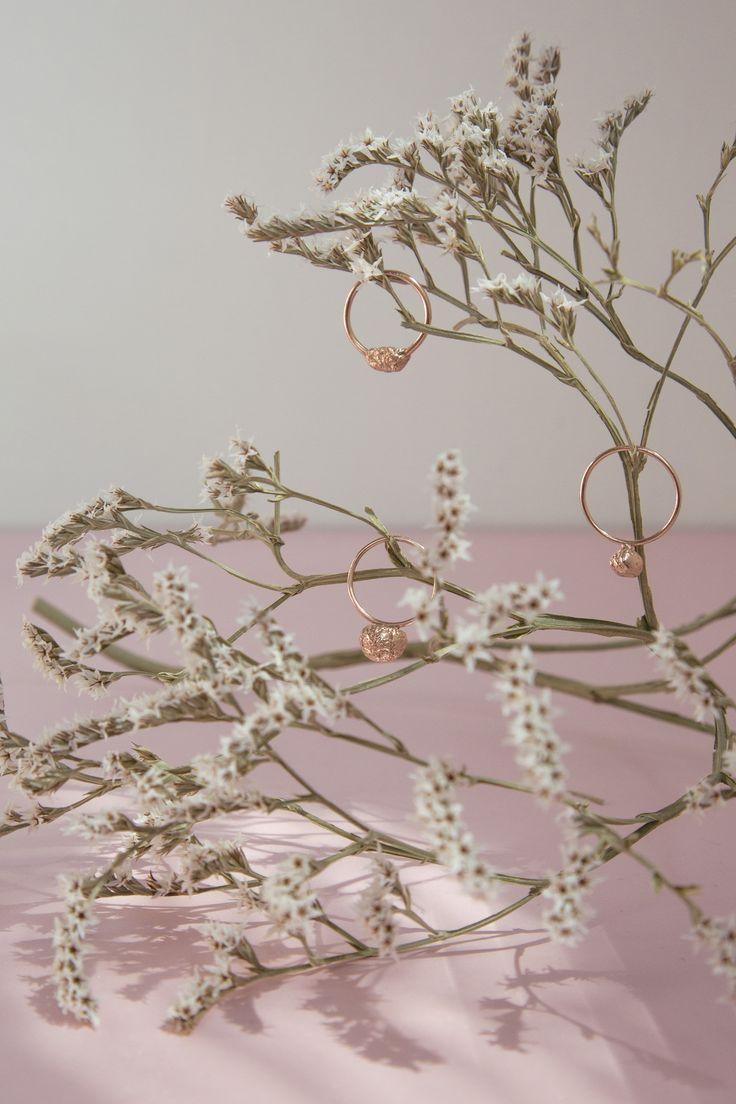 ELIŠKA LHOTSKÁ JEWELLERY / rings / New Pink gold collection