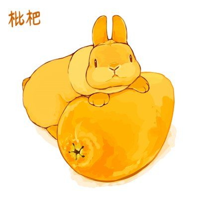 Twitter キュートなスケッチ ウサギのイラスト バニー アート