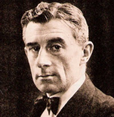French composer Maurice Ravel (March 7, 1875 - December 28, 1937).