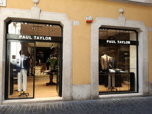 Roma Shop & More: I nuovi store di Paul Taylor!